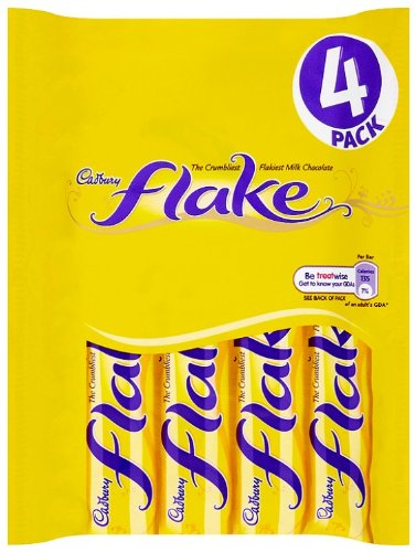 Cadbury Flake 4 Bars