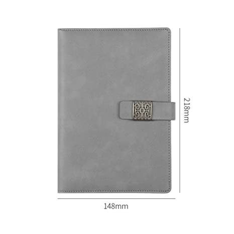 ZLJHH Cuaderno De Cuero Agenda A5 Planificador Cuaderno ...
