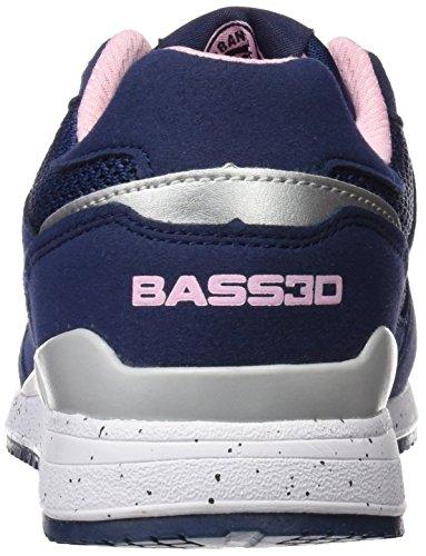 bass3d 041307, Zapatillas para Mujer Azul (Navy)
