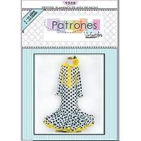 Patrón de costura vestido flamenca Nejas de Niña
