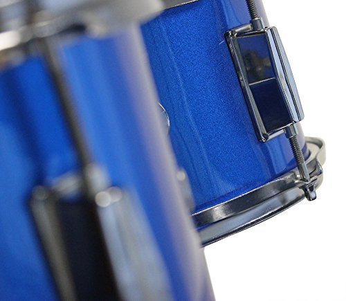 Music Alley Kids 3 Piece Beginners Drum Kit Blue inch DBJK02 by Music Alley (Image #4)