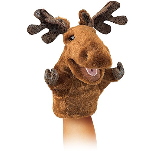 Moose Hand Puppet - 8