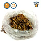 123 Treats | Pig Ears Strips for Dogs (5 Pounds) 100% Natural Bulk Ears Dog Chews