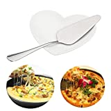 Raza 1PC Triangle Pizza Pie Spade Stainless Steel Handle Cake Shovel Bread Spatula Stainless Steel Kitchen Baking Tools