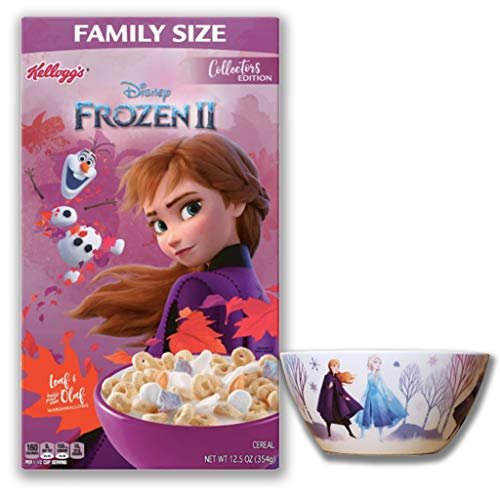 Frozen 2 Breakfast Cereal and Bowl Set