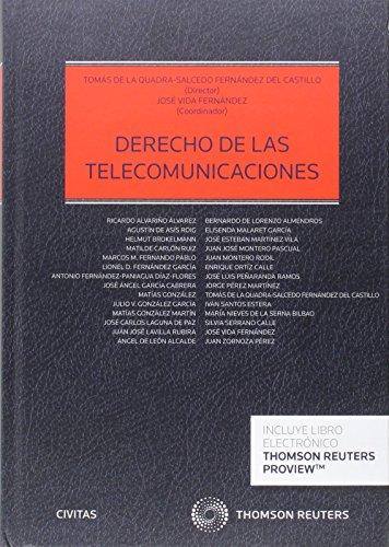 Descargar Libro Derecho De Las Telecomunicaciones Fernández Del Cast Tomas De La Quadra-salcedo