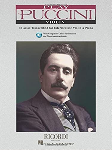 10 Arias Transcribed for Violin /& Piano Play Puccini