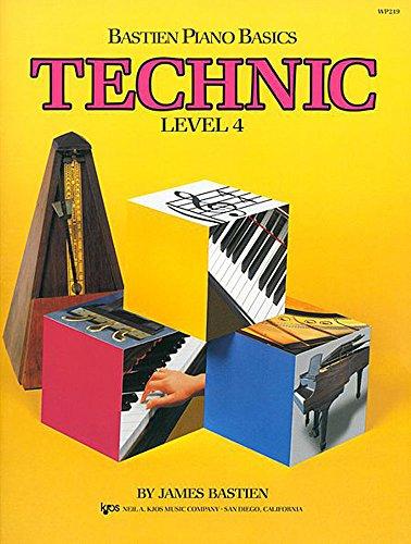 Bastien Piano Basics Technic Books - 5