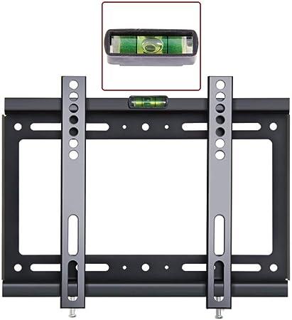 LJIANW Soporte de Pared para TV Soporte TV Pared for La Mayoría 14-70 Pulgadas LED LCD OLED Plasma Plano Pantalla Curva Televisores Anti-Deslumbrante,MAX VESA 400x400mm,60kg,8 Tamaños: Amazon.es: Hogar