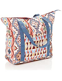 Pale Dogwood-Pasadena Blanket Other Side Womens Tote Bag