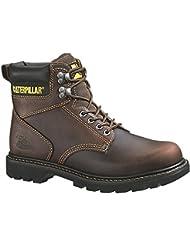 Caterpillar Mens Second Shift 6 Plain Soft Toe Work Boot