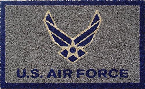 S&D US Air Force Coir Door Mat