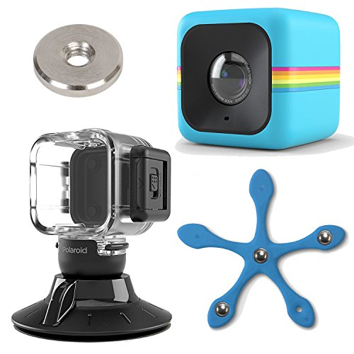 Action Camera Case Compatible W// the Polaroid Cube Lifestyle Action Camera