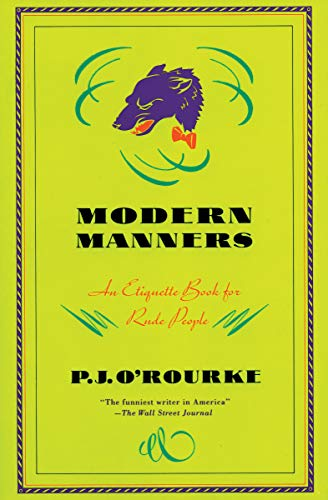 Modern Manners: An Etiquette Book for Rude People for sale  Delivered anywhere in USA