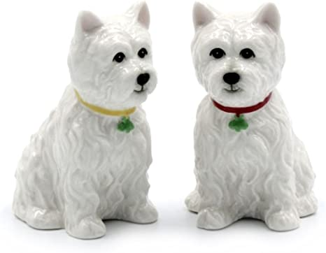 Set of Westie dog Salt /& Pepper Shaker