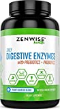 #3: Digestive Enzymes Plus Prebiotics & Probiotics - Natural Support for Better Digestion & Lactose Absorption - For Bloating, Constipation & Gas Relief + Helps IBS & Leaky Gut - 180 Vegetarian Capsules