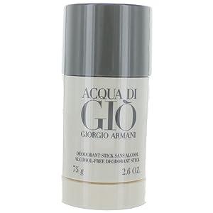 Giorgio Armani Acqua Di Gio For Men Deodorant, Alcohol Free TEJ