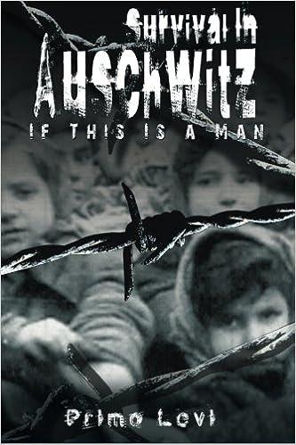Survival in auschwitz primo levi 9781492942580 amazon books fandeluxe Choice Image