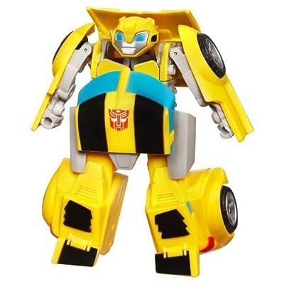 Playskool Heroes Transformers Rescue Bots Energize Bumblebee Figure | Educational Computers