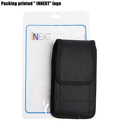iNNEXT - Funda para iPhone 7 Plus con clip para cinturón, para Samsung Note 8 Galaxy S8 Plus/iPhone 6/6S Plus, Galaxy Note 5, Galaxy S6 Edge Plus (5,5 ...