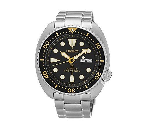 Seiko-Mens-Silvertone-Automatic-Diver-Watch