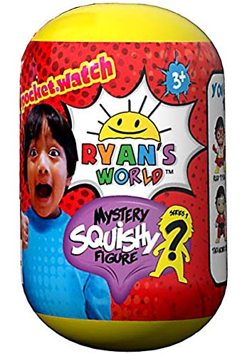 Ryan's World Pocket Watch Mystery Squishy Figure
