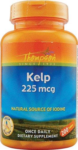 Thompson Kelp -- 225 mcg - 200 Tablets - 3PC (Kelp Thompson)