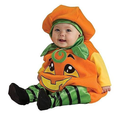 Rubieu0027s Infant Pumpkin Orange Infant 6-12 Months  sc 1 st  Amazon.com & Halloween Costumes for 12 Month Olds: Amazon.com