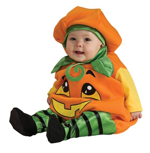 Rubies Pumpkin Infant Halloween Costume (Rubie's Costume Infant Pumpkin, Orange, Infant 6-12 Months)