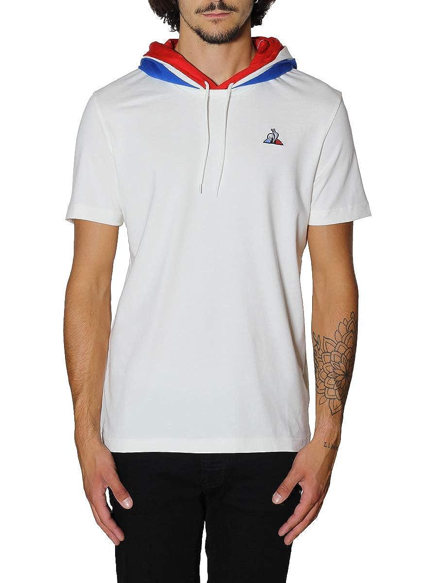 Le Coq Sportif Camiseta Tricolore: Amazon.es: Zapatos y complementos