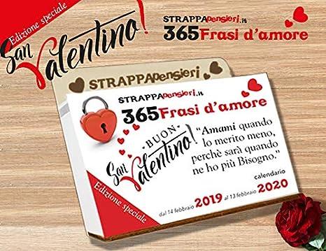 San Valentino Tavolo.Strappapensieri Speciale San Valentino Calendario Da