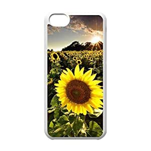 MMZ DIY PHONE CASESunflower ZLB587966 Unique Design Case for ipod touch 5, ipod touch 5 Case
