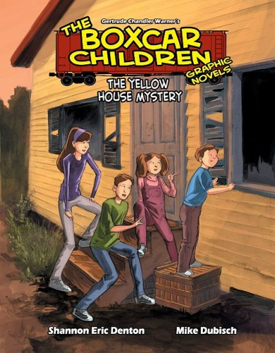 The Yellow House Mystery (Boxcar Children Graphic Novels)
