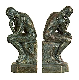 Thinker 75394 Bookends Pair 9\