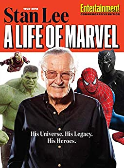 Entertainment Weekly Stan Lee: A Life of Marvel by [The Editors of Entertainment Weekly]