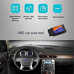 NorSway OBD2 Scanner Wifi Car Code Reader Diagnostic Check Tool for IOS Android and Windows Device