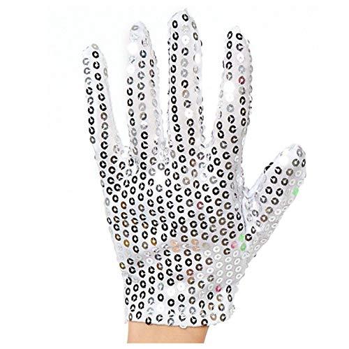 blinkee Child Size Unlit Michael Jackson Left Hand Sequin Glove | Silver