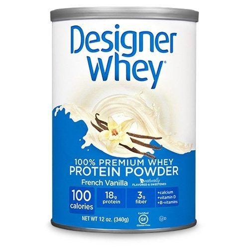 Designer Whey Protein Powder French Vanilla - 12 Oz by Designer Whey
