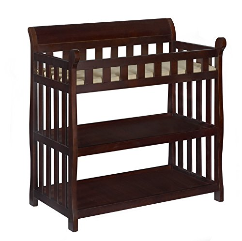 Sleigh Wood Style (Delta Children Eclipse Changing Table, Vintage Espresso)