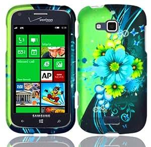 For Samsung ATIV Odyssey i930 Hard Design Cover Case Sublime Flower Accessory