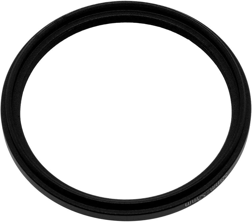 NA 58mm-52mm 58mm to 52mm Pitch Ring Adapter for Camera Lens Filter
