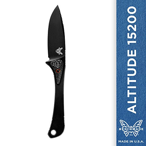 Benchmade Altitude 15200 Knife, Drop-point, Black Coated Finish