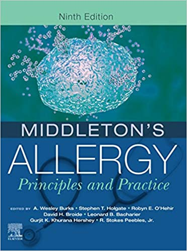Middleton's Allergy E-Book: Principles and Practice (Middletons Allergy Principles and Practice), 9th Edition