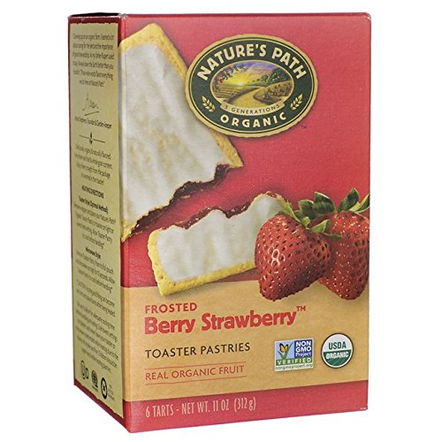 Natures Path Organic Pastries Strawberry product image