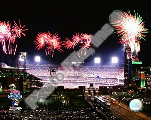 (Citizens Bank Park Game 5 of the 2008 World Series Photo 10 x 8in)