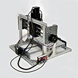 CNC 2417 Mini DIY Mill Router Kit USB Desktop Metal