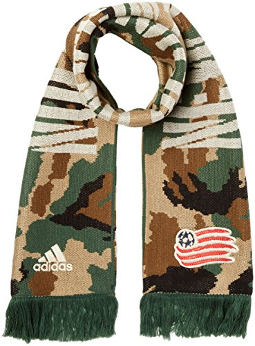 New Soccer Gloves - MLS New England Revolution Adult Jacquard Scarf, One Size, Camo