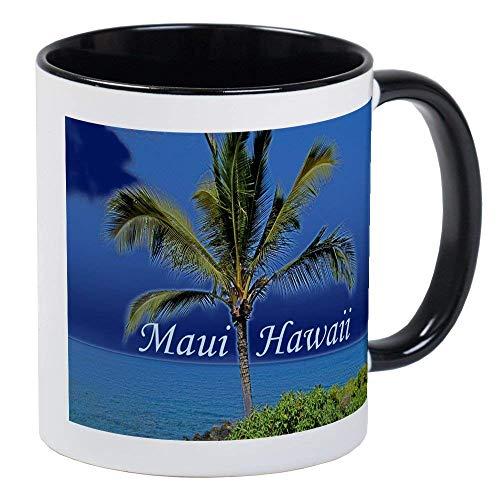 - Maui Hawaii RINGER Mug - Ceramic 11oz Coffee/Tea Cup Gift Stocking Stuffer