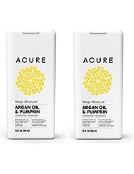 Acure Organics Moroccan Argan Oil and Argan Stem Cell Natural Repairing Conditioner, 8 fl. oz. (Pack of 2)