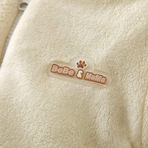 Lemohome Infant Baby Boys Girls Outerwear Hooded Winter Warm Romper Down Snowsuit